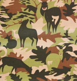 Camouflage Herten/Bladeren