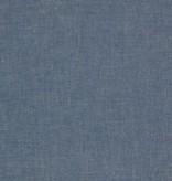 Denim chambray blauw