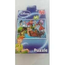 'Peter Pan' jumbo puzzel in giftbag 50 stuks