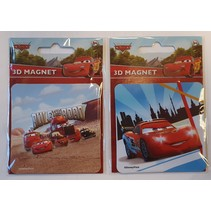 Disney Cars 3D Magneet in foil 13x9cm