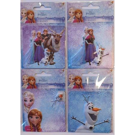 Disney Disney Frozen 3D Magneet in foil 13x9cm