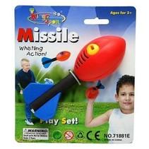 Whistling Missile Bal met fluit 16cm