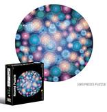 Round flat puzzel 1000 stukjes - Firework