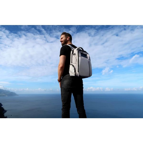 Life Pack Life Pack Solar Rugzak Grijs