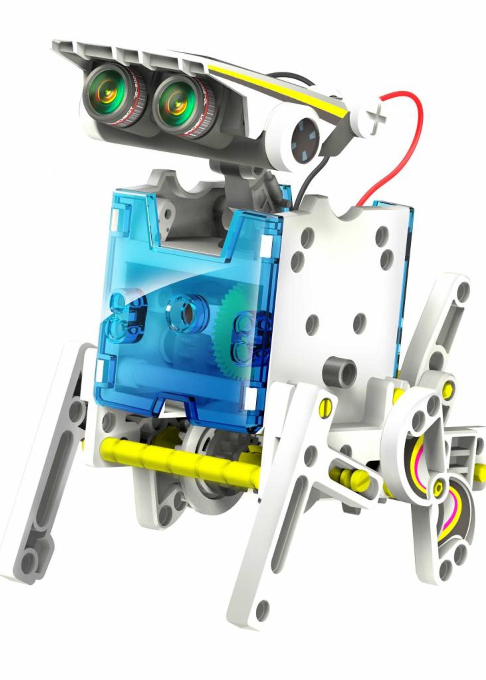 DIY 14 in 1 Solar robot