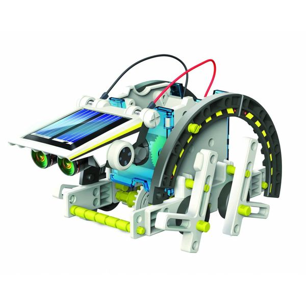 DIY 14 in 1 Solar robot
