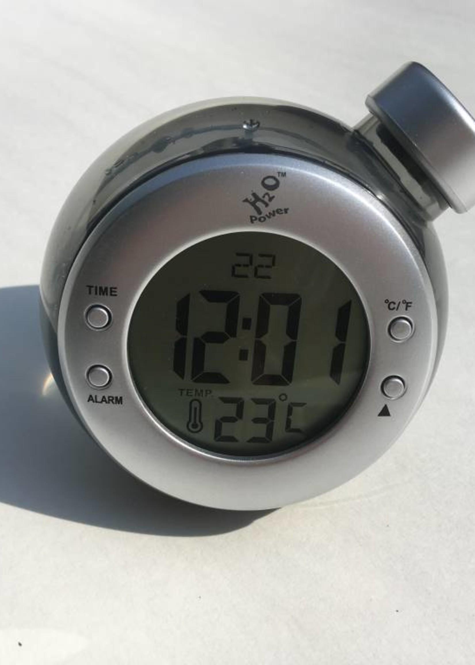 H20 Power Waterklok