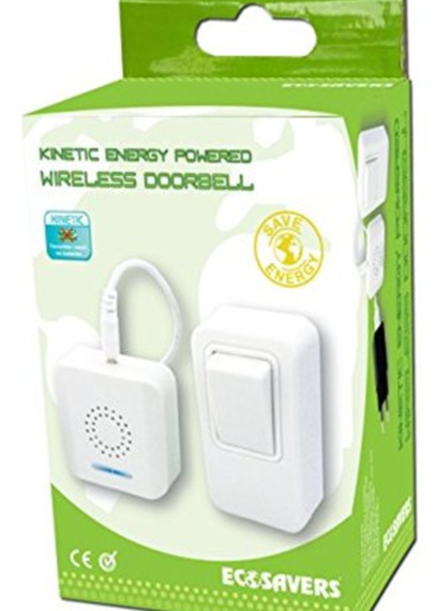 Kinetic energy powered doorbell