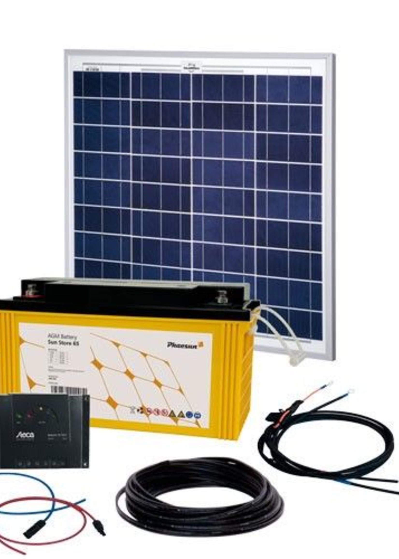 Phaesun Energy Generation Kit Solar Rise One 2.0 50W/12V