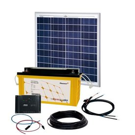 Phaesun Energy Generation Kit Solar Rise One 2.0 50W/12V