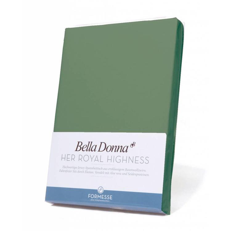 Formesse Bella Donna Jersey Hoeslaken - Olijfgroen