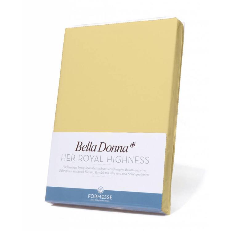 Formesse Bella Donna Jersey Hoeslaken - Lichtgeel