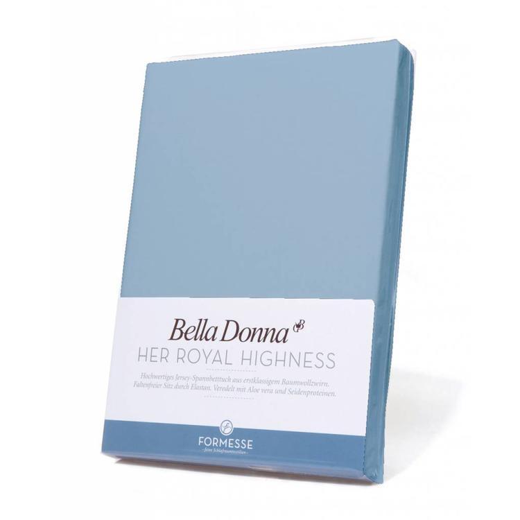 Formesse Bella Donna Jersey Hoeslaken - Lichtblauw