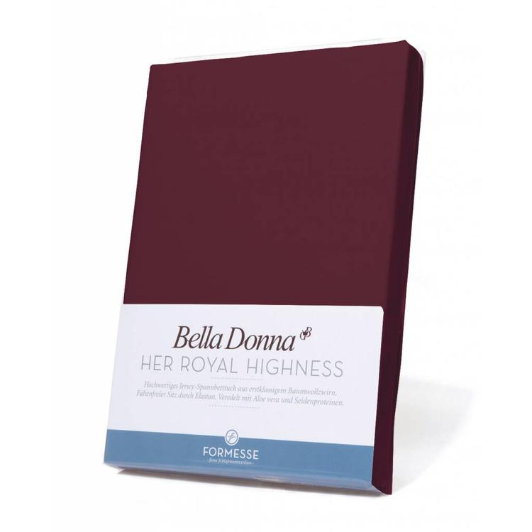 Formesse Bella Donna Jersey Hoeslaken - Cabernet