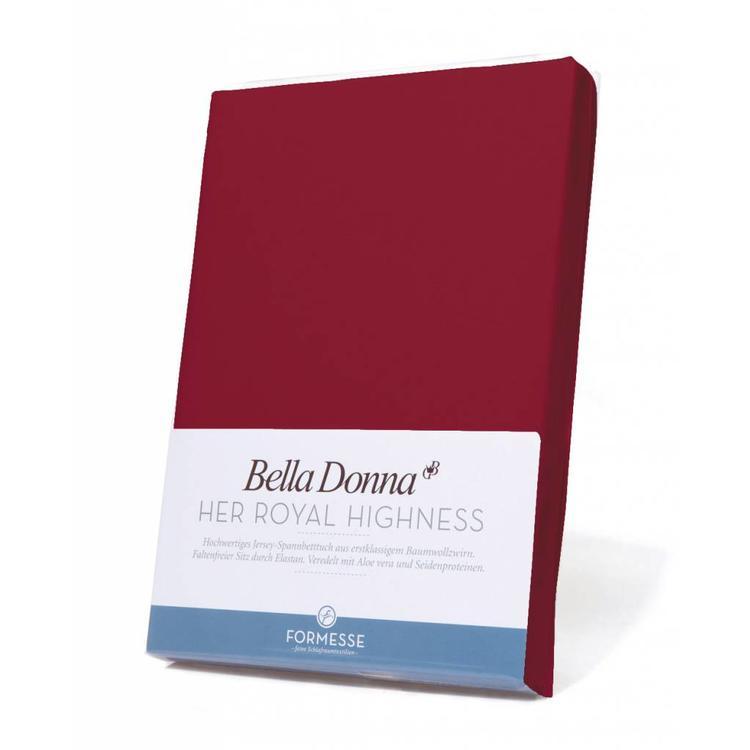 Formesse Bella Donna Jersey Hoeslaken - Karmijnrood