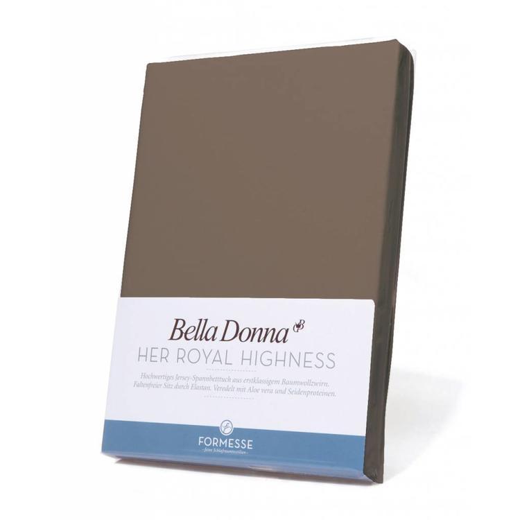 Formesse Bella Donna Jersey Hoeslaken - Truffel