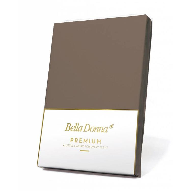 Formesse Bella Donna Premium Jersey Hoeslaken - Truffel