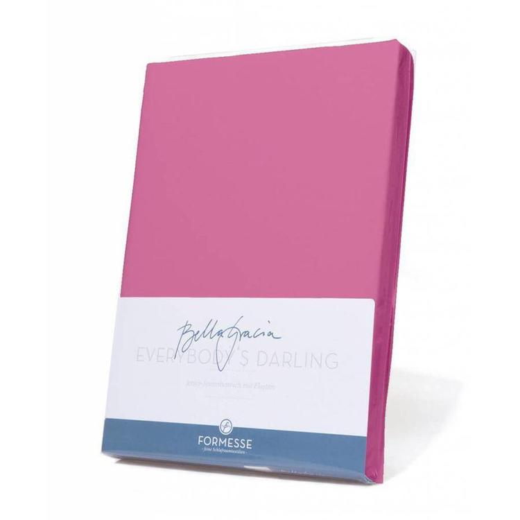 Formesse Bella Gracia Jersey Hoeslaken - Flamingo