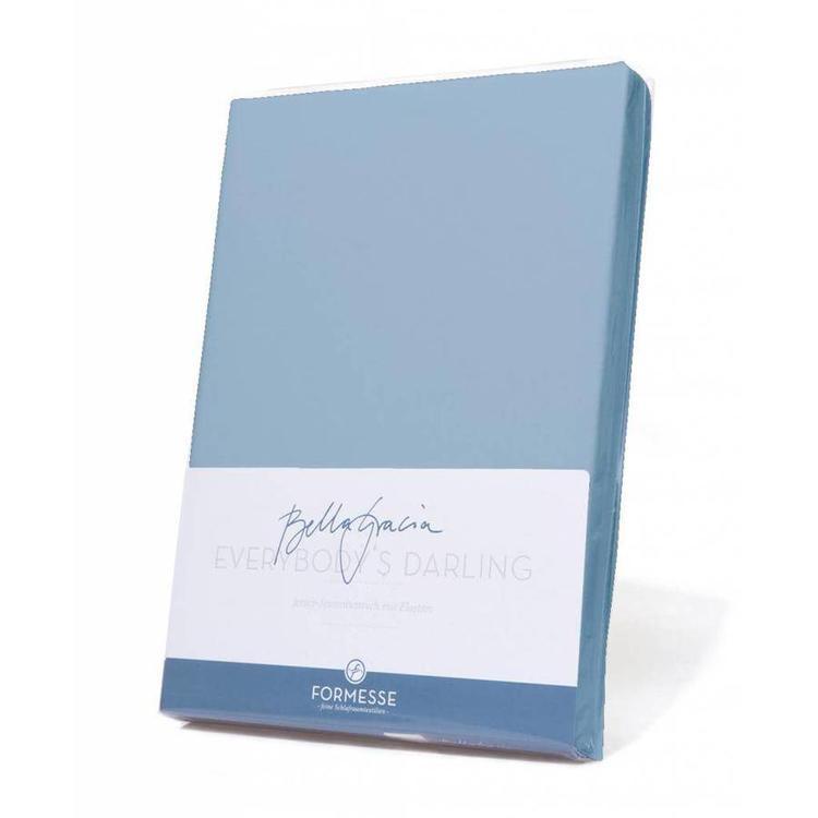 Formesse Bella Gracia Jersey Hoeslaken - Lichtblauw