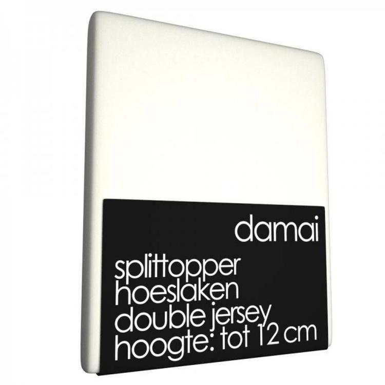 Damai Multiform Split-topperhoeslaken - Ivoor