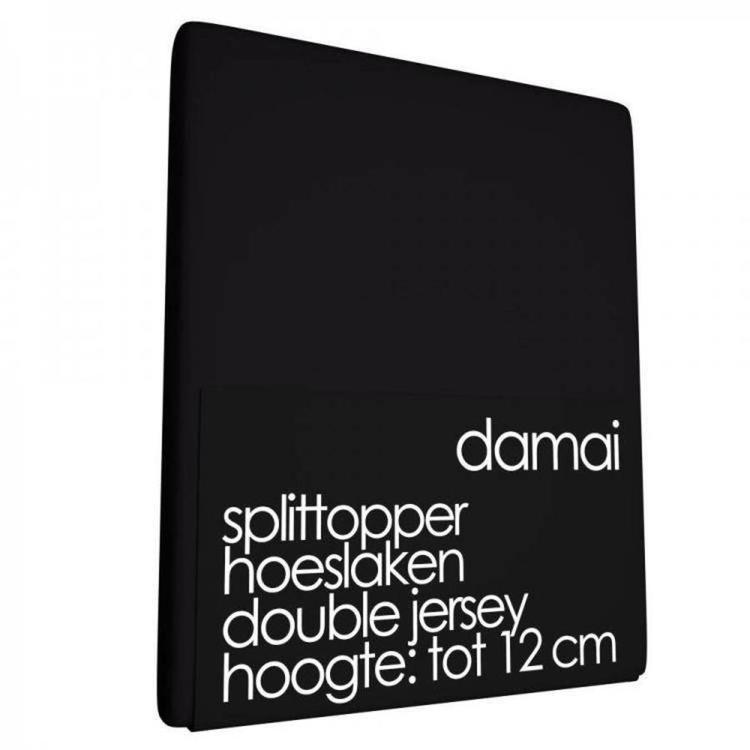 Damai Multiform Split-topperhoeslaken- Zwart