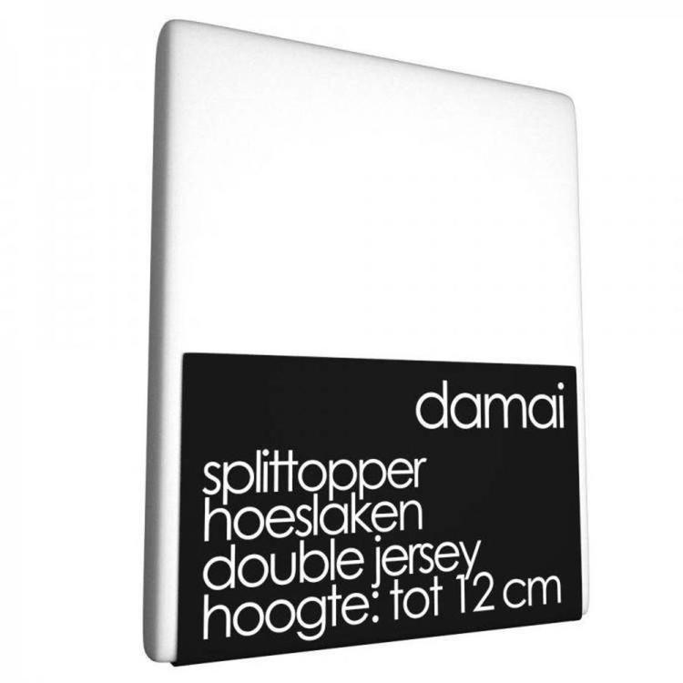 Damai Multiform Split-topperhoeslaken - Wit