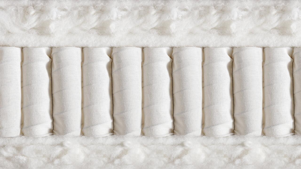 Vispring Devonshire matras doorsnede