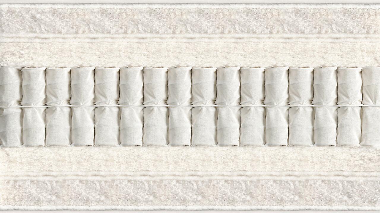 Vispring Marquess Superb matras doorsnede