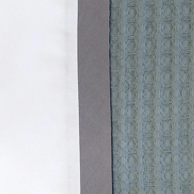 Dommelin Bari Dekbedovertrek  - Groen / Leisteengrijs