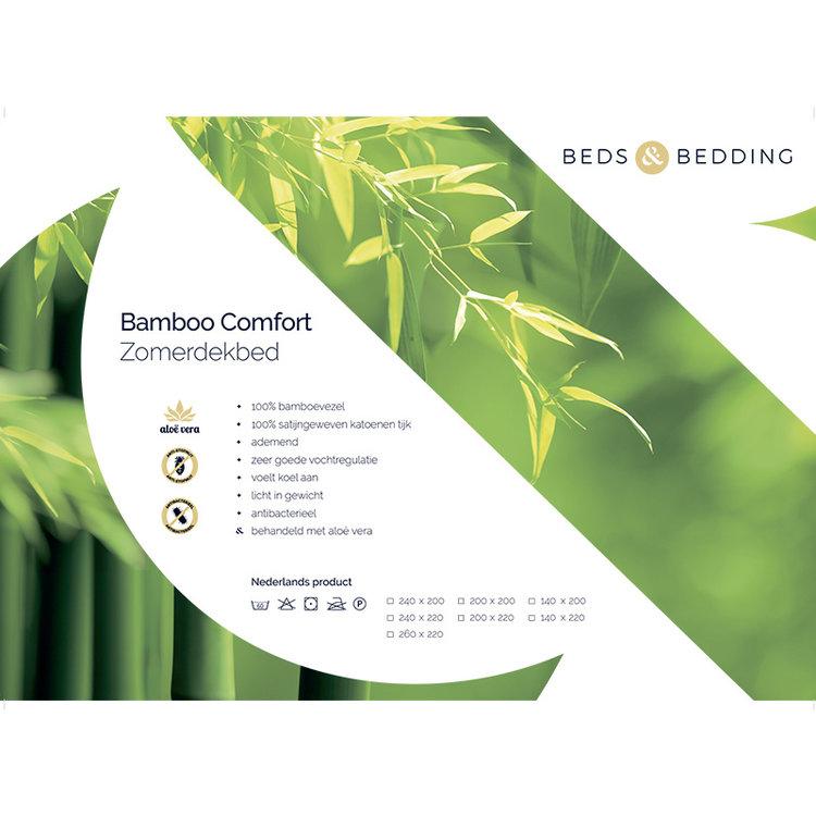 Beds & Bedding Bamboe Comfort Zomerdekbed