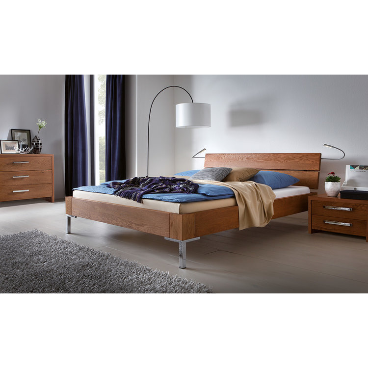 Hasena Oak-Line Alpa Bed