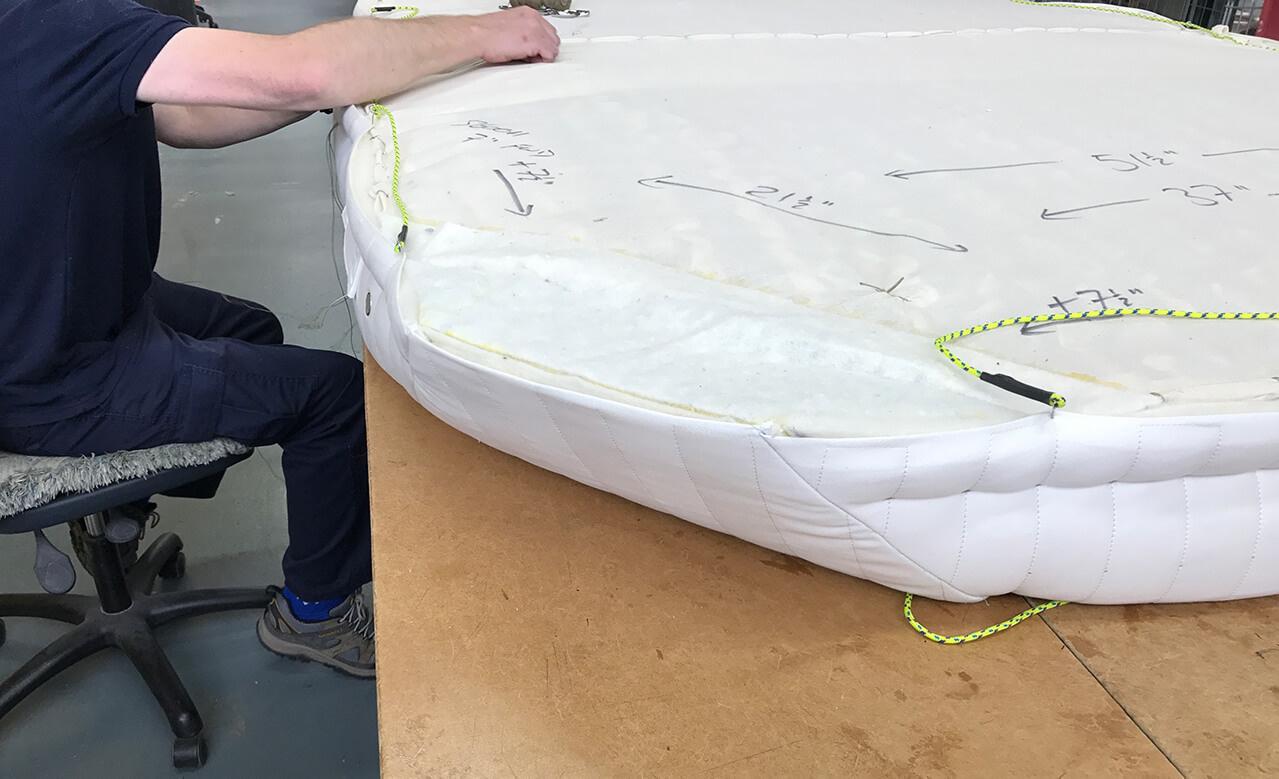 Boot matras Vispring