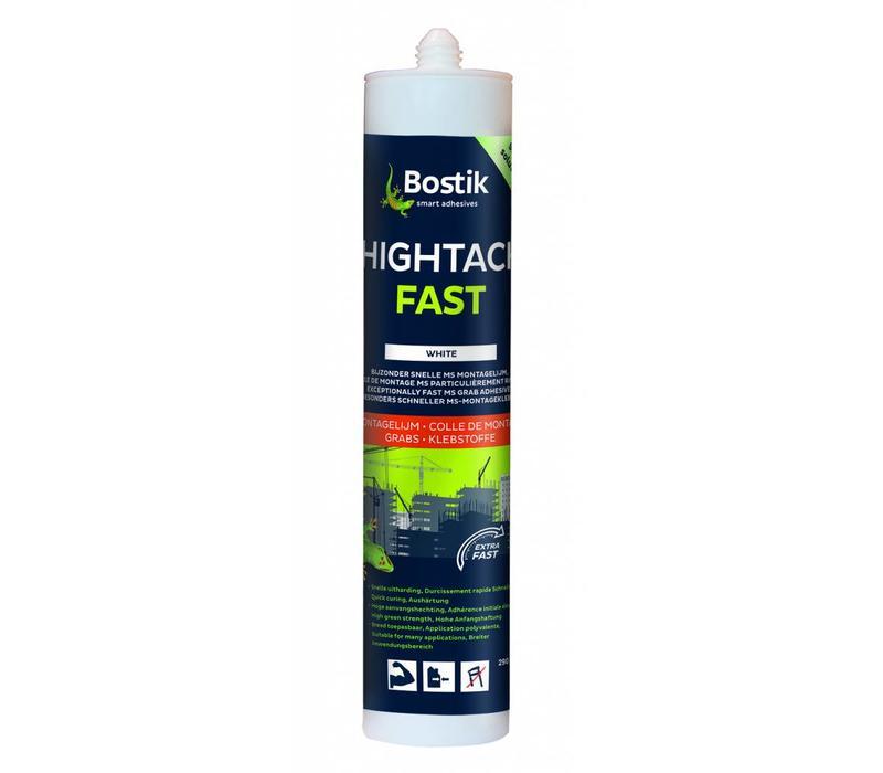Bostik HighTack Fast wit patroon 290ml