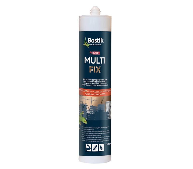 Bostik Multi Fix Weiß Kartusche 290ml