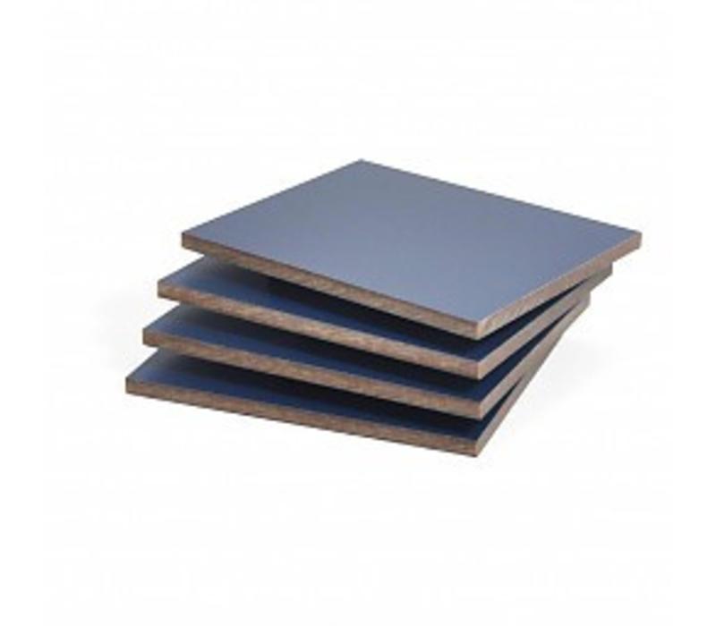 HPL Platte Dunkelblau Struktur 6mm