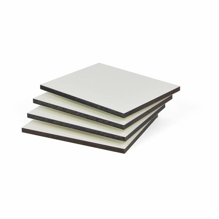 HPL Platte Weiß