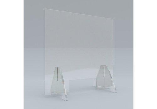 Plexiglas Plexiglas kuchscherm staand