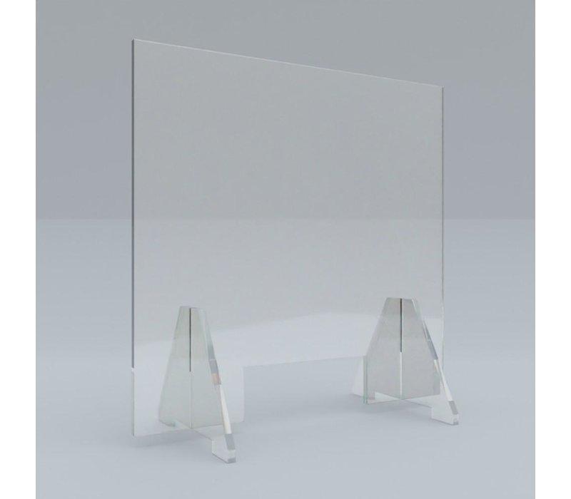Plexiglas kuchscherm staand
