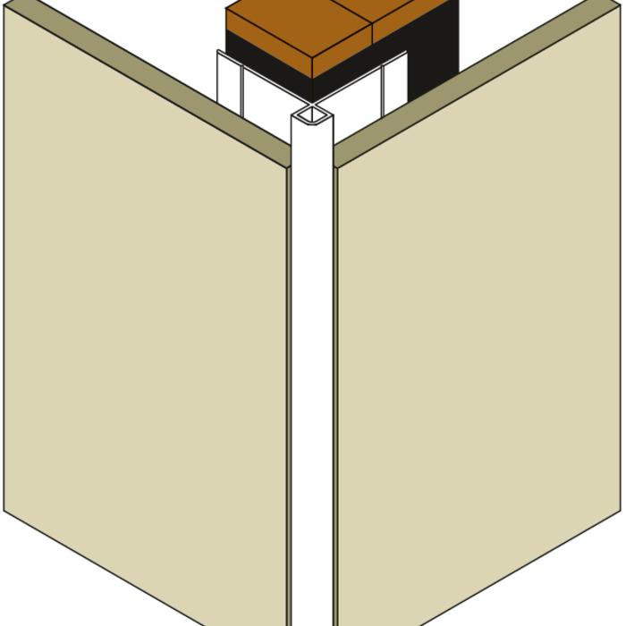 Fassadenprofile für Trespa / HPL