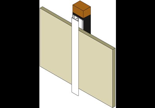 Huismerk Voegafdek / koppel profiel C