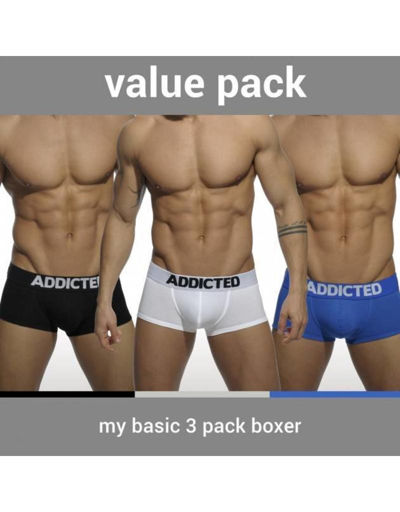 Addicted ADDICTED My Basic Three Pack Boxer