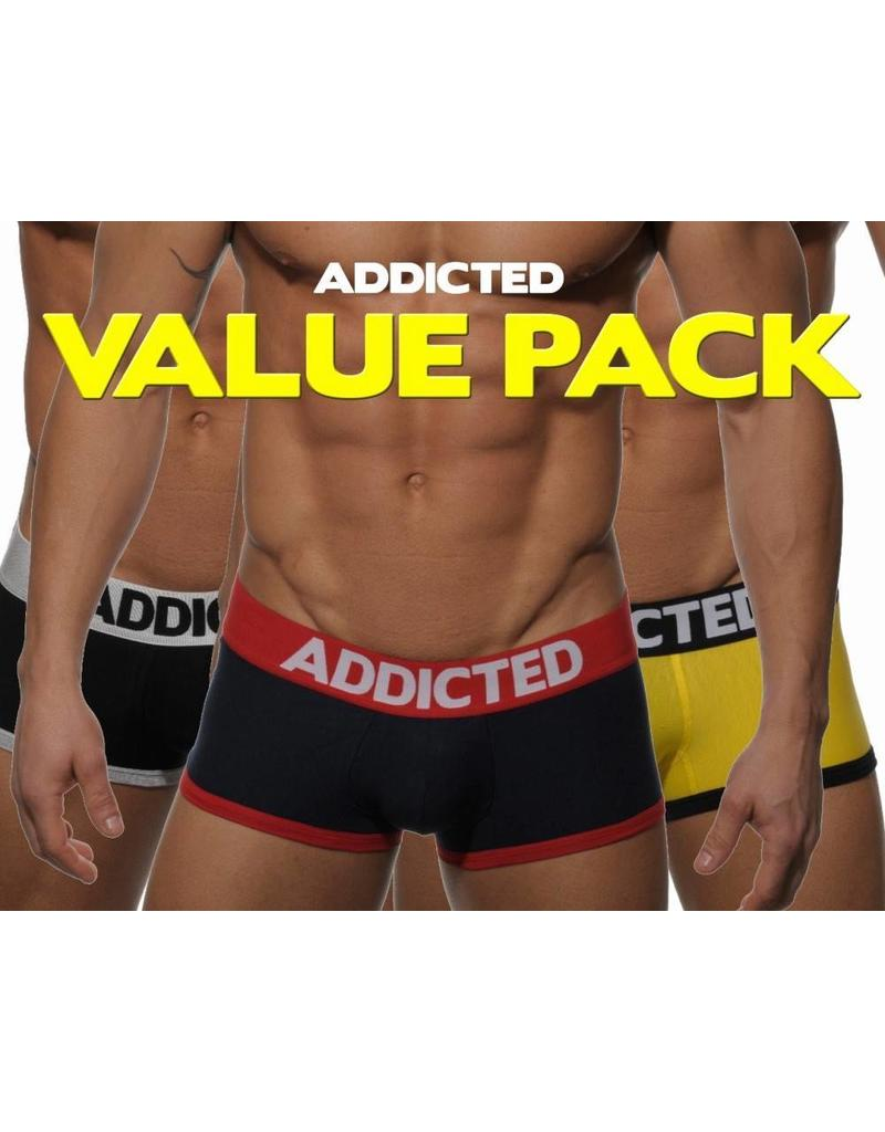 Addicted ADDICTED Three Pack Basic Boxer