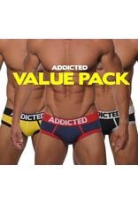 Addicted ADDICTED Three Pack Basic Brief
