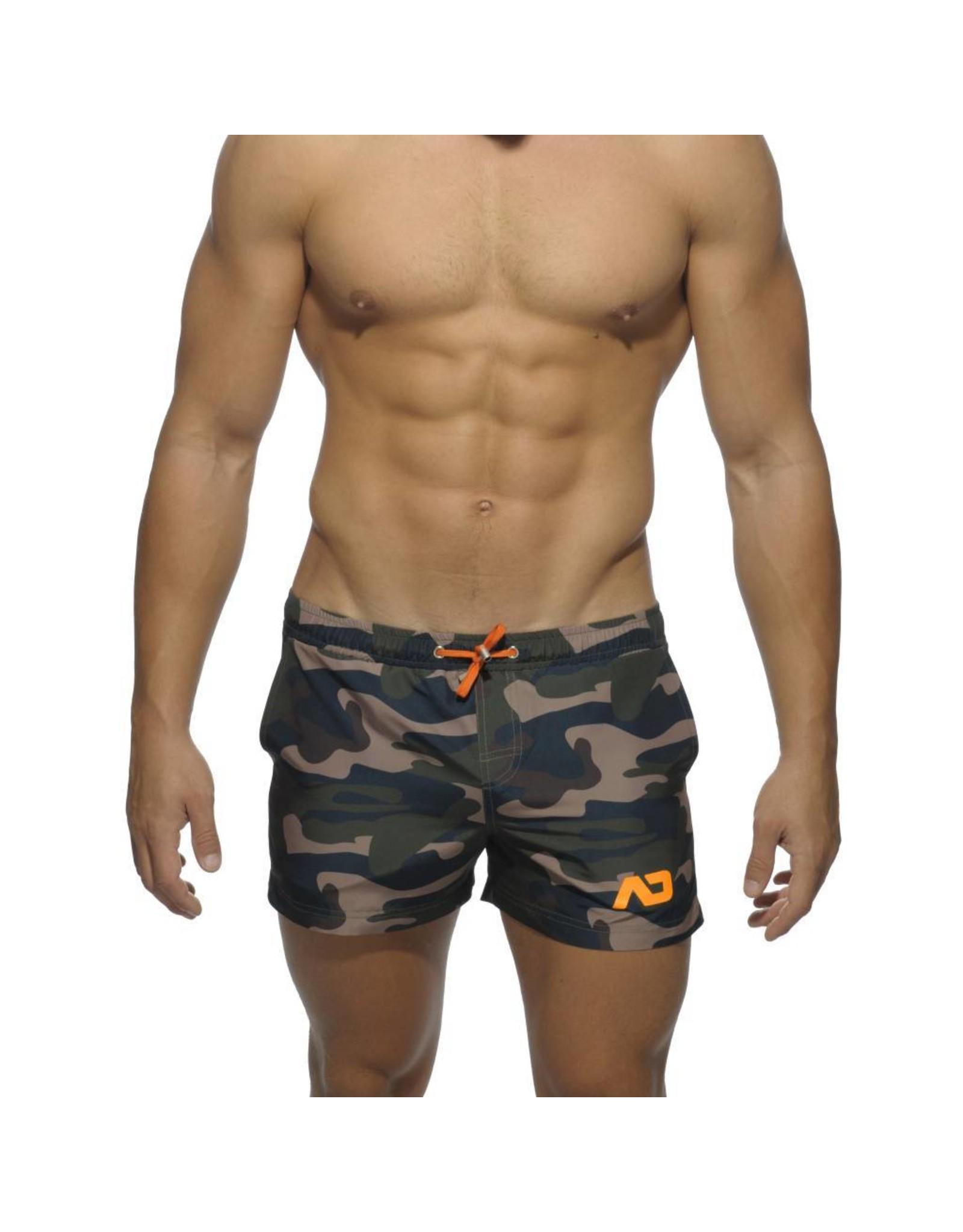 Addicted ADDICTED Camouflage Swimwear Short