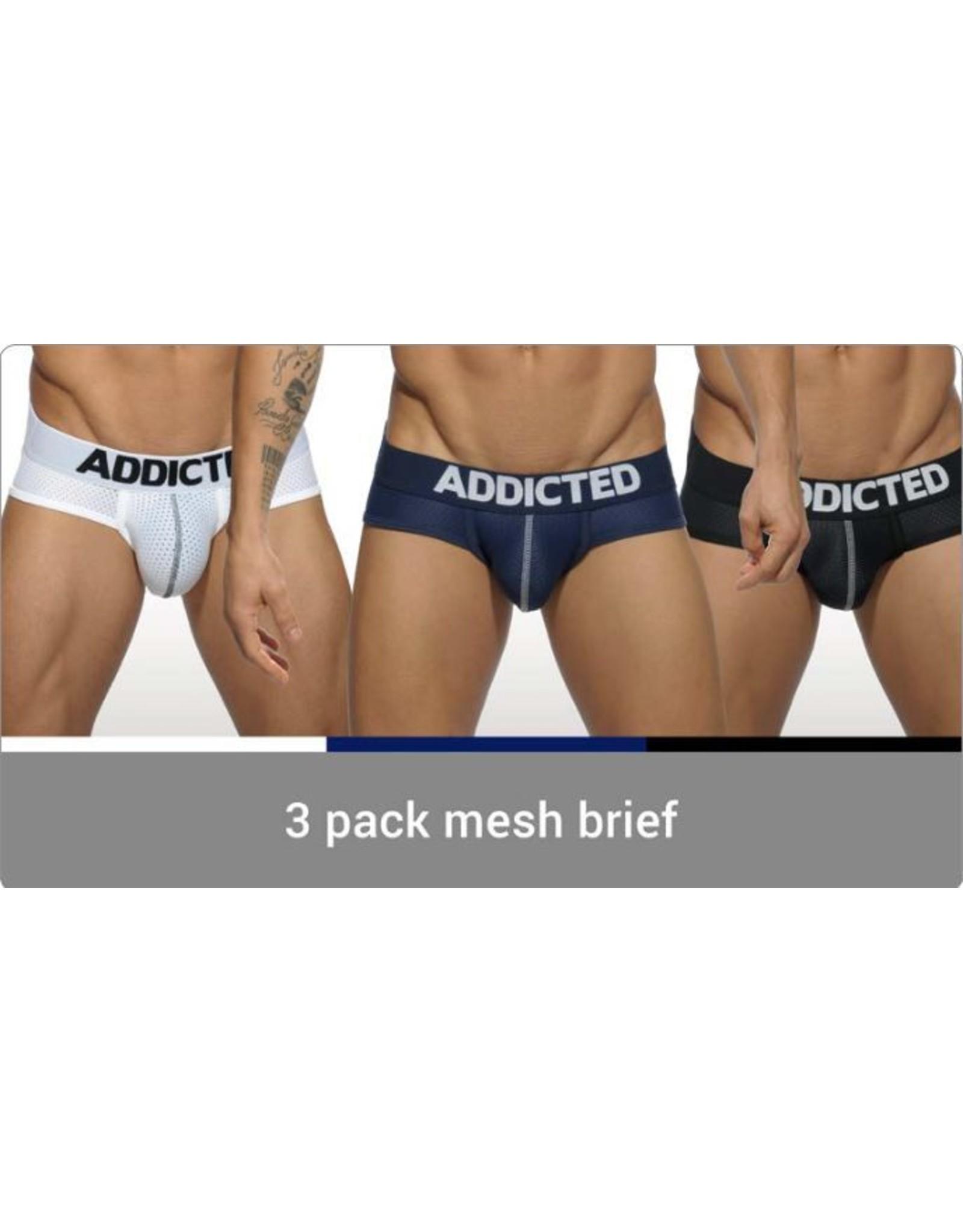 Addicted ADDICTED 3 Pack Mesh Brief Push up