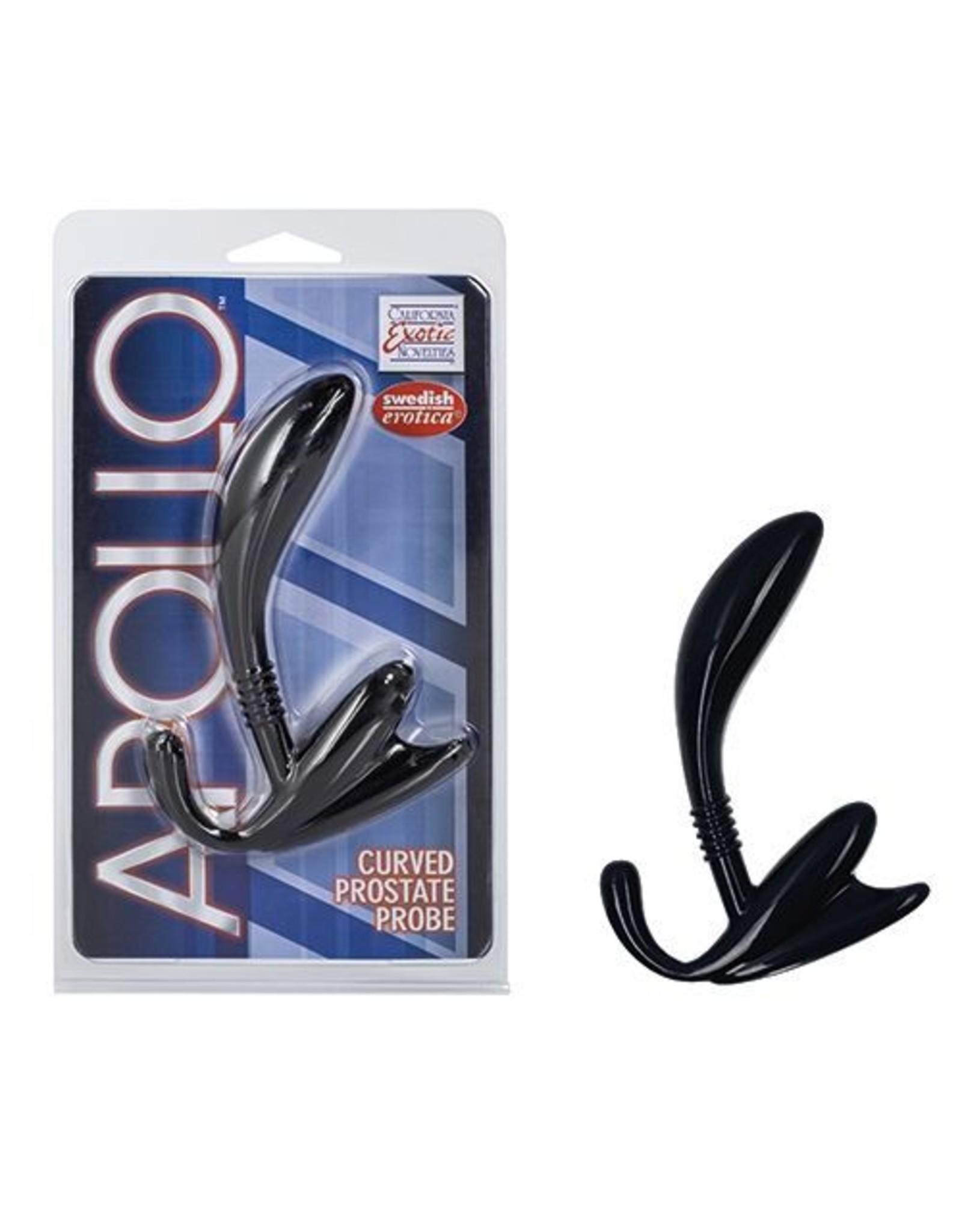 Apollo curved Prostata Plug schwarz
