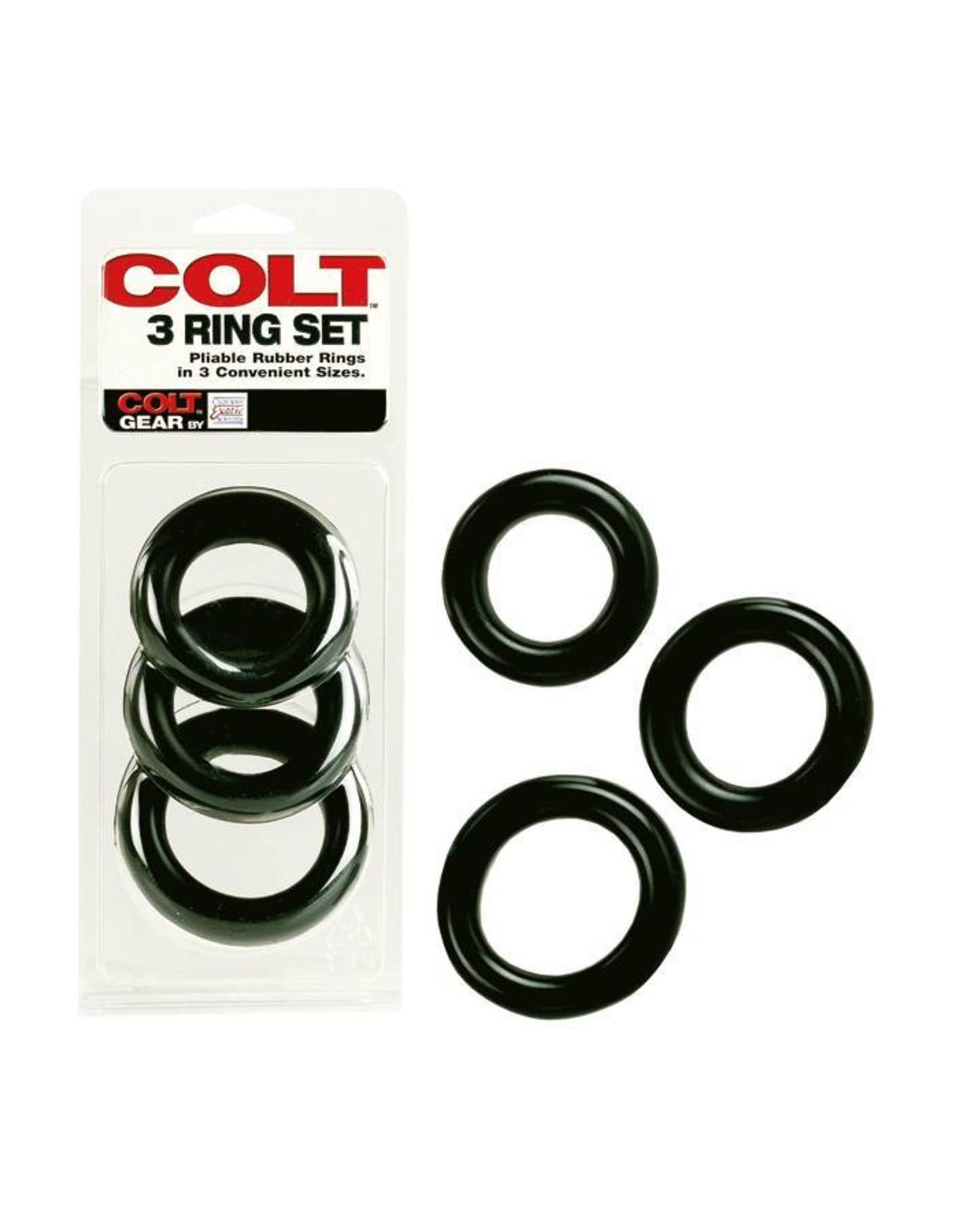 COLT Cockring 3er Set