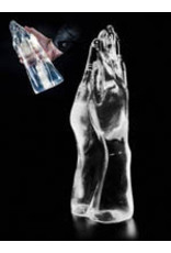 Dark Crystal Clear Double Hand Dildo DCC25