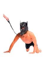 Fetish Fantasy Doggy Maske mit Leine