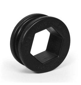Keepburning Hex Ring Black